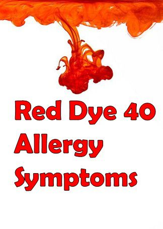 Red Dye Allergy Symptoms, Causes and Treatment - Allergy-symptoms.org