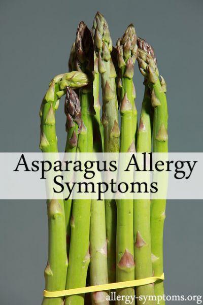Asparagus Allergy Symptoms Allergy Symptoms Org
